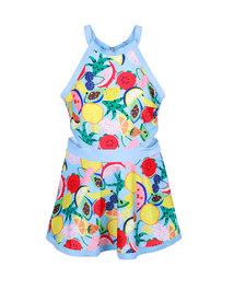 爱美丽泳衣水果沙拉无托肚兜裙式连体泳衣IM68CMC1