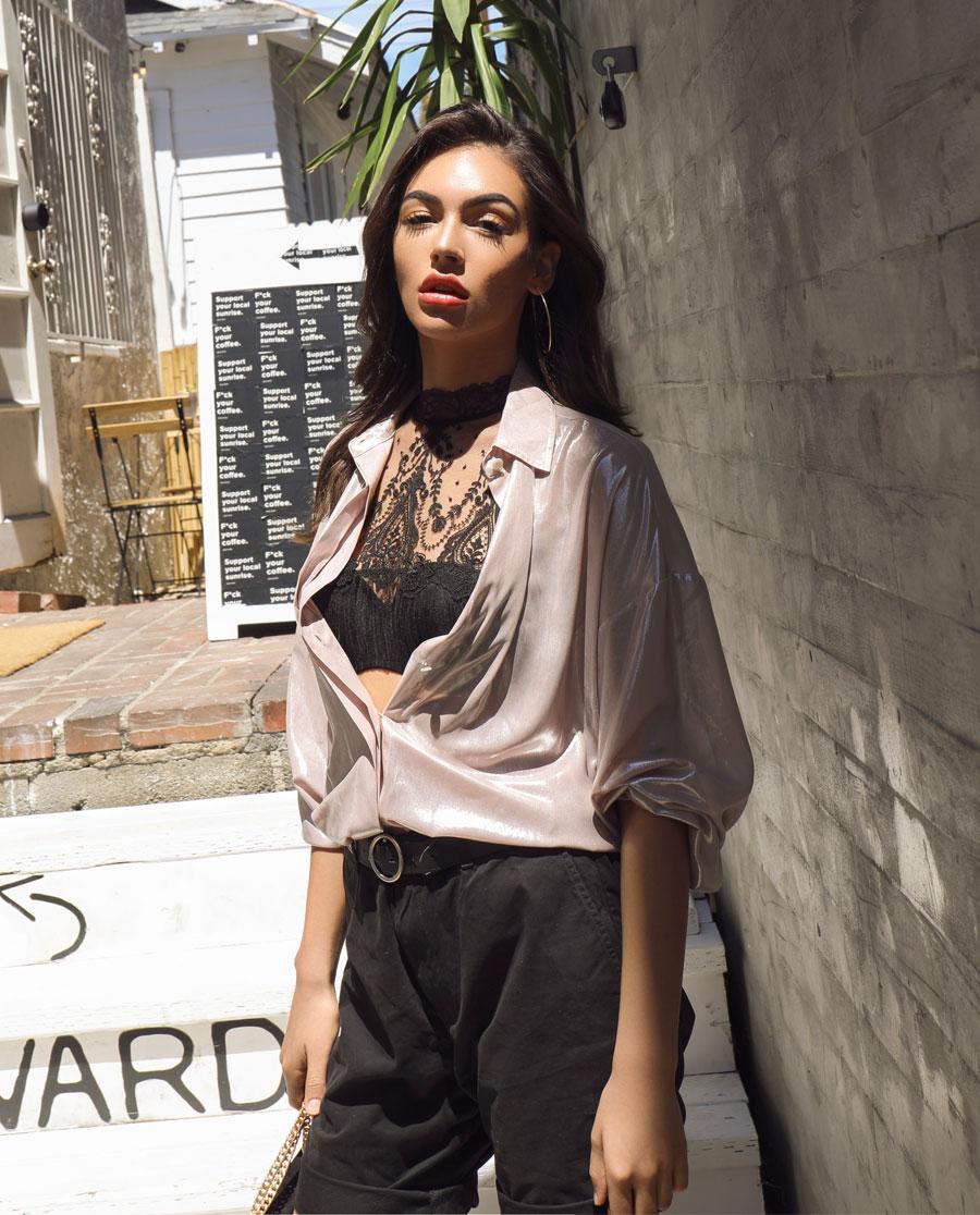 La Clover文胸|LA CLOVER自由女神系列背心式美背