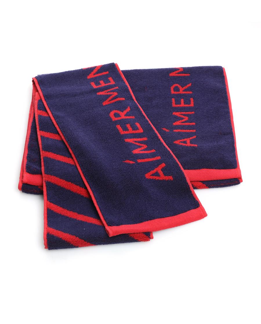 Aimer Men配饰|爱慕先生舒享运动毛巾礼盒两条装NS09Z