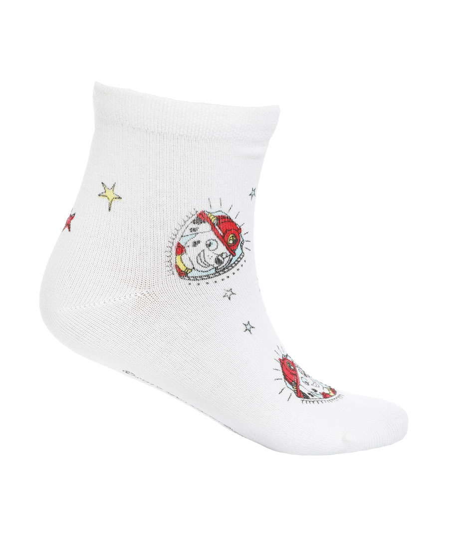 Aimer Kids襪子|愛慕兒童汪汪隊19SS襪子毛毛滿幅印花童