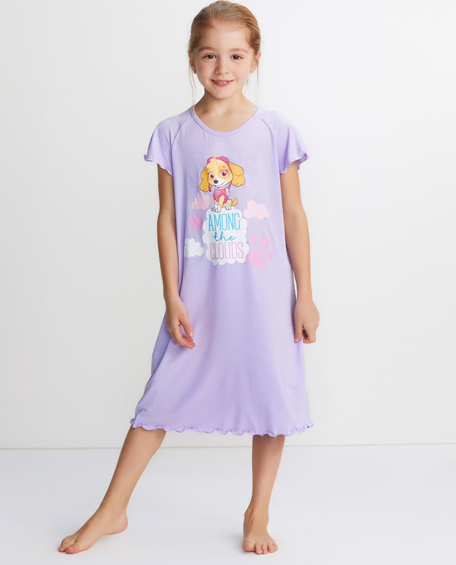 Aimer Kids睡衣|愛慕兒童汪汪隊天天彩虹短袖睡裙AK1442321