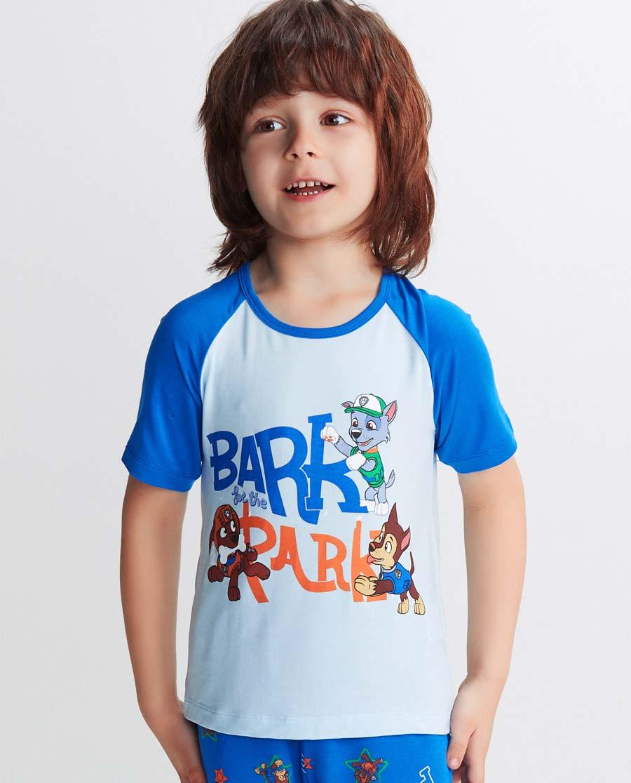 Aimer Kids睡衣|愛慕兒童汪汪隊狗狗樂園短袖上衣AK241