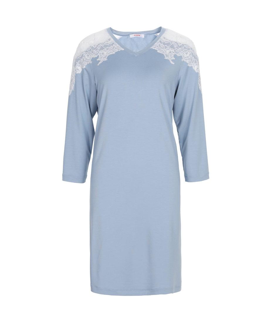 Aimer睡衣|爱慕乐眠长袖睡裙AM443461
