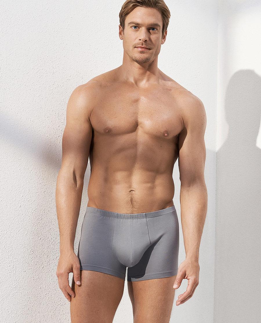 Aimer Men內褲|愛慕先生自然棉中腰平角內褲兩件包NS23