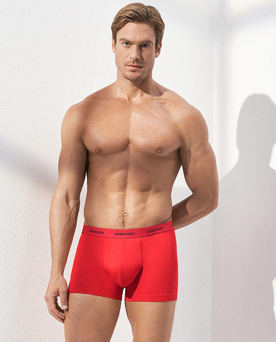 Aimer Men內褲|愛慕先生時尚莫代爾裝腰平角內褲NS23C