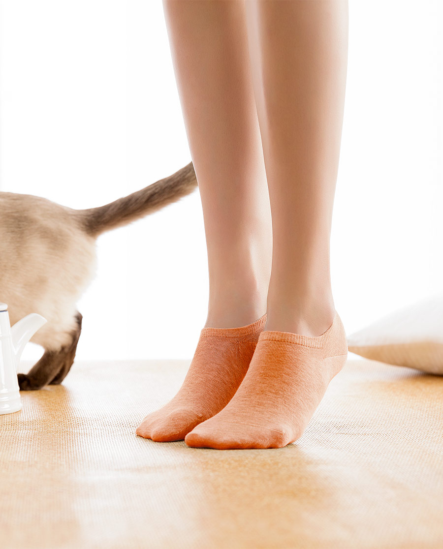 JOURVA襪子|足哇柔軟時光女士淺口船襪JV111013