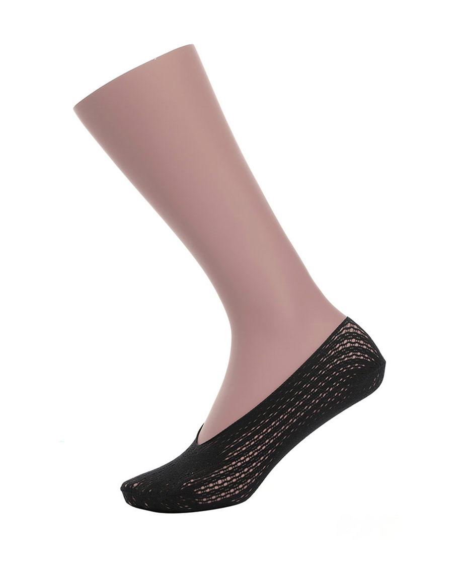 JOURVA襪子|足哇精致網眼蝴蝶網眼淺口襪JV11101
