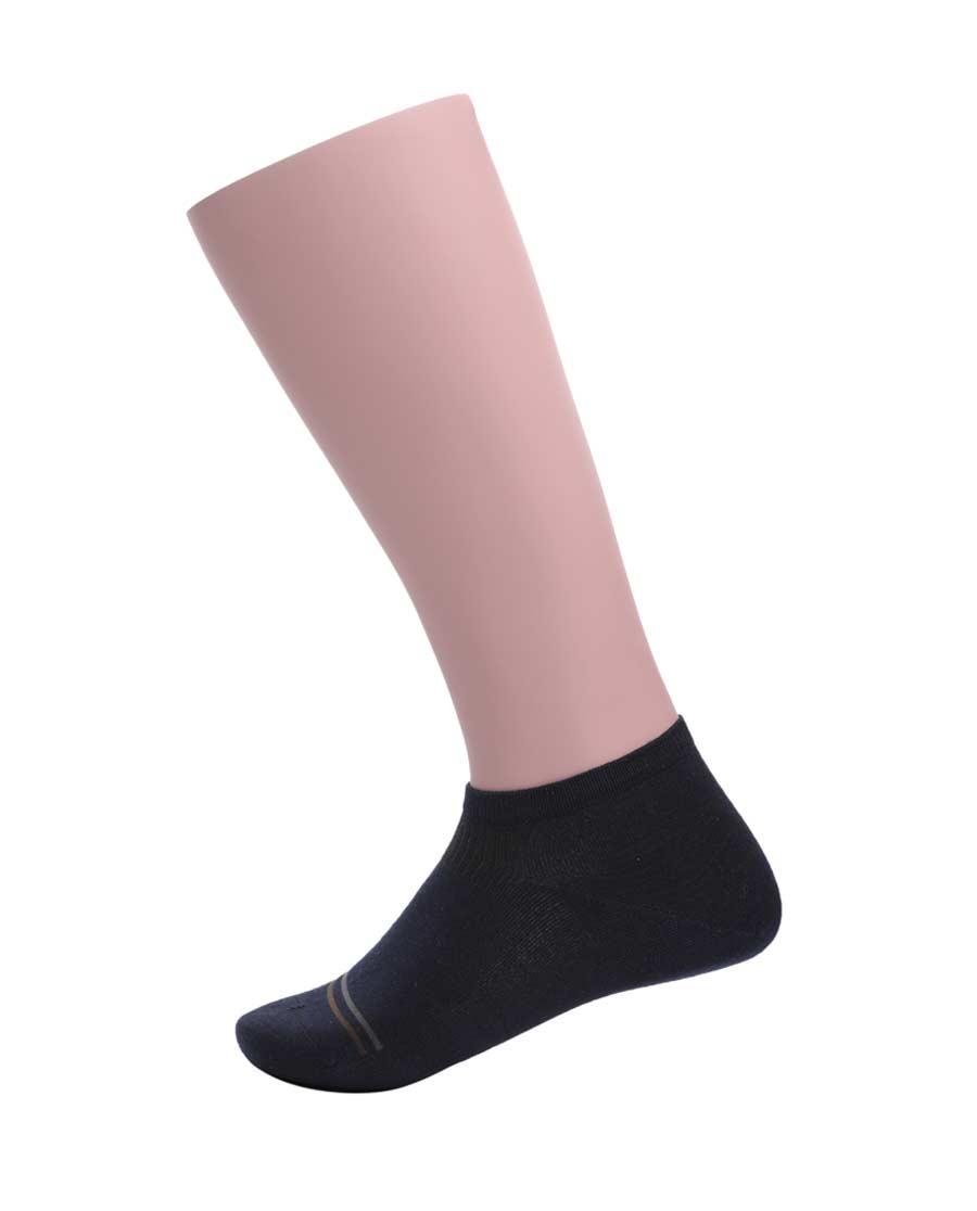 JOURVA襪子|足哇絲柔呵護粘纖直角短襪JV211008