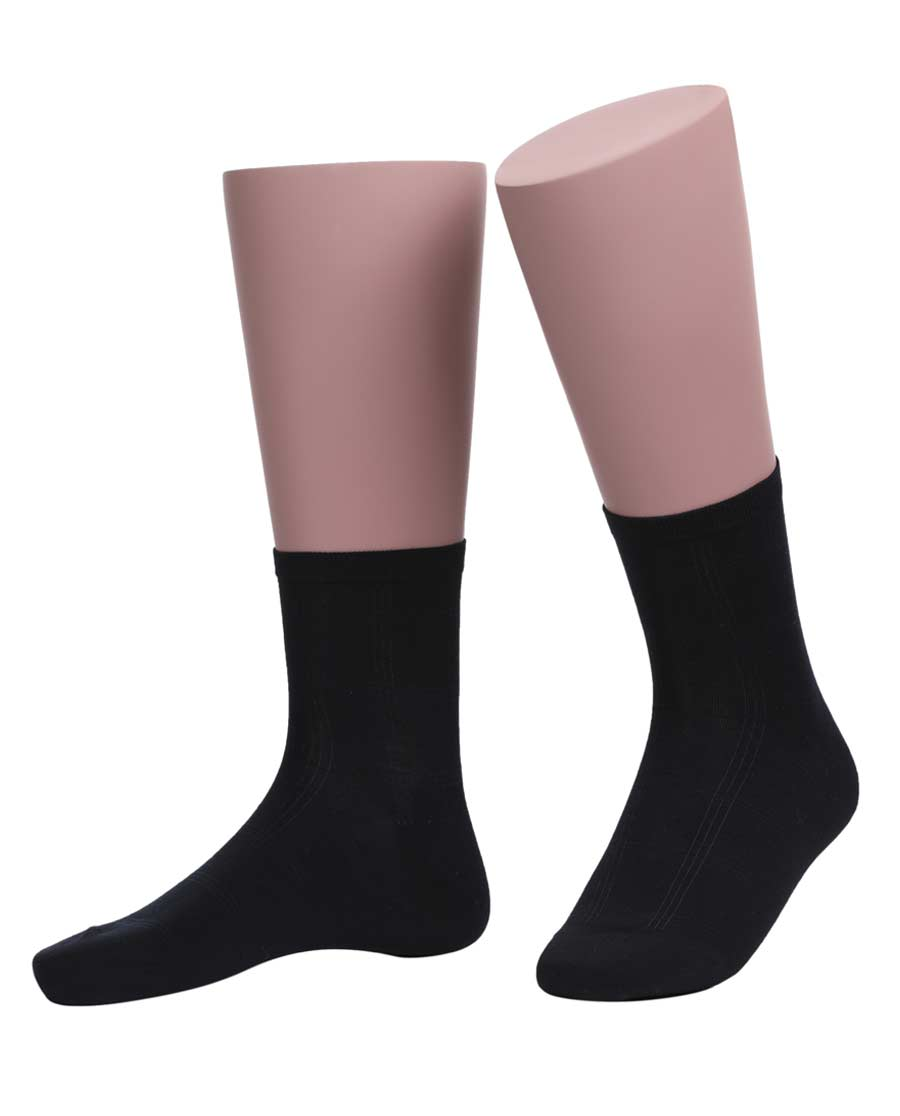 JOURVA襪子|足哇簡意艾草系列暗紋商務男襪JV2110