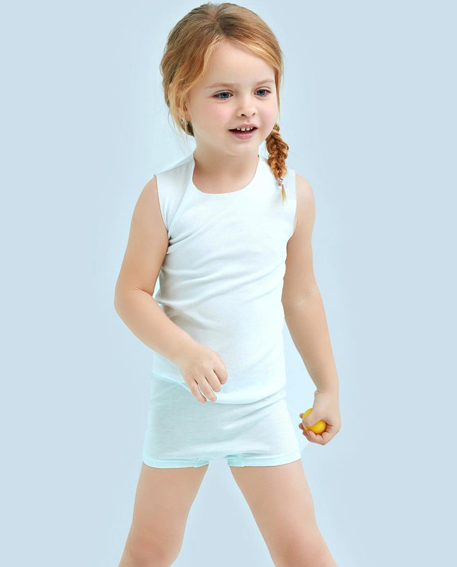 Aimer Kids内裤 爱慕儿童清凉夏日中腰平角内裤AK1230