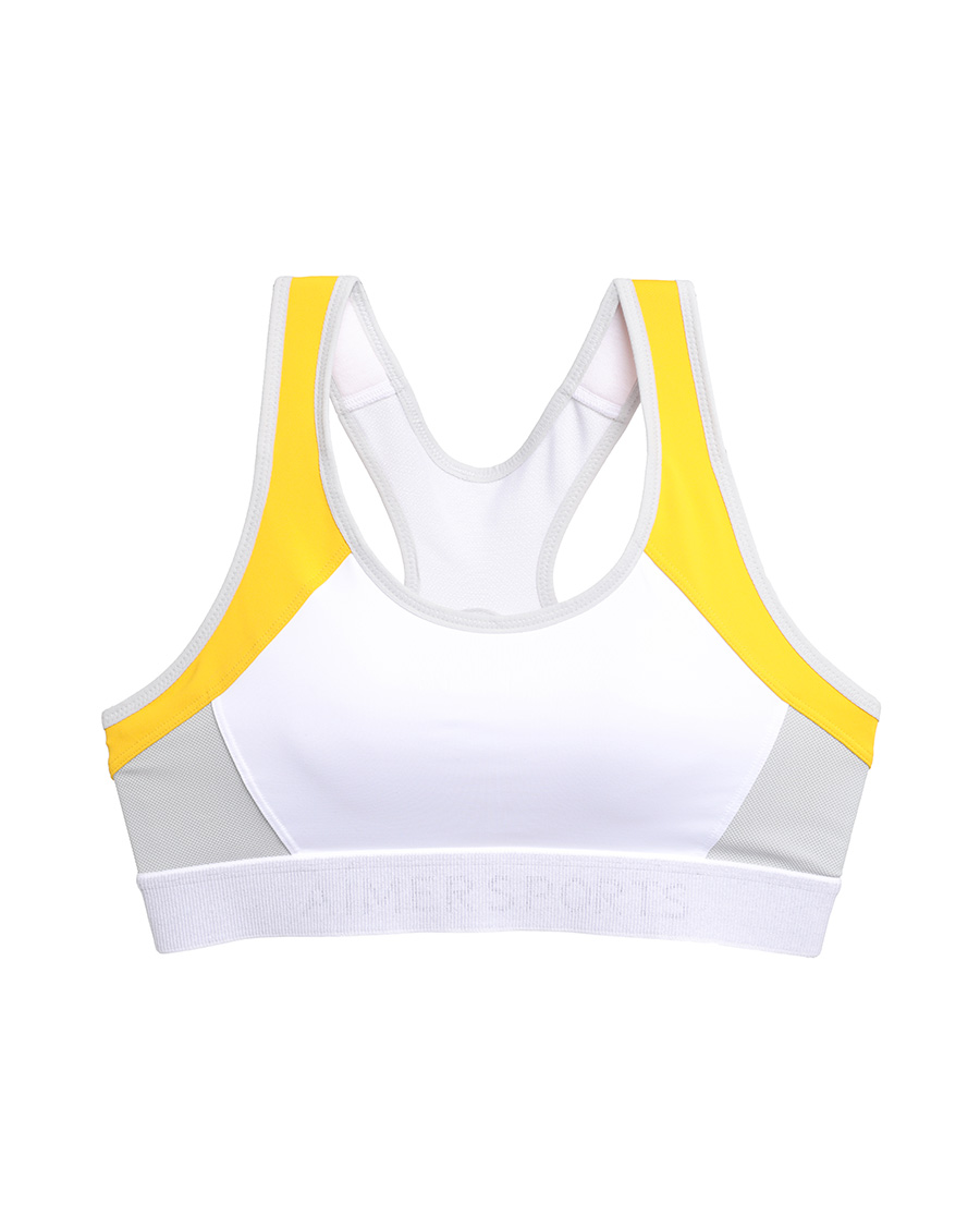 Aimer Sports文胸|爱慕运动iMOVE II高强度拼色运动文