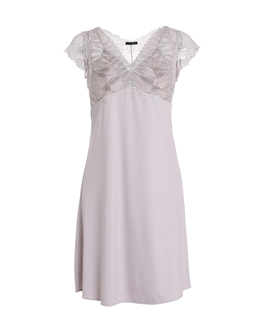 La Clover睡衣|LA CLOVER兰卡文挪威森林系列小袖睡裙LC44JR1