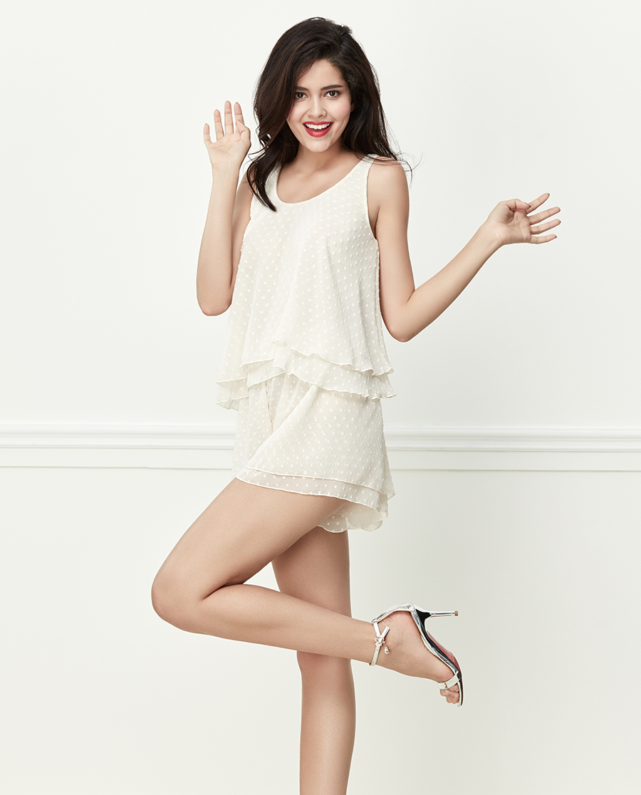Shine Love睡衣|心爱少女假日背心短裤套SL43R31