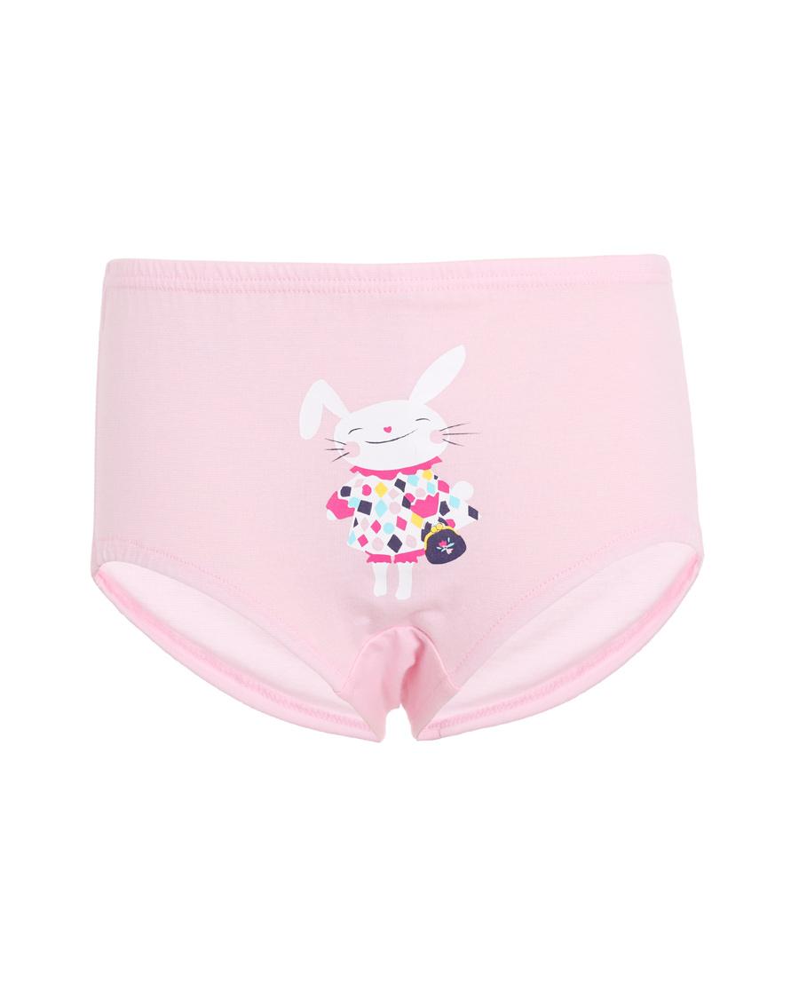Aimer Kids内裤|爱慕儿童贵宾兔女童中腰三角面包裤AK1221971