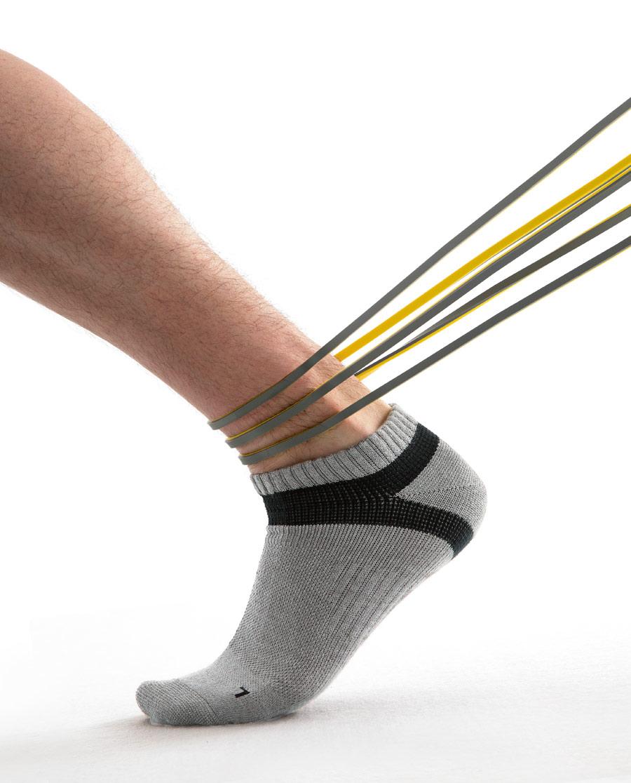 JOURVA襪子|足哇運動之旅男士運動短襪JV213004