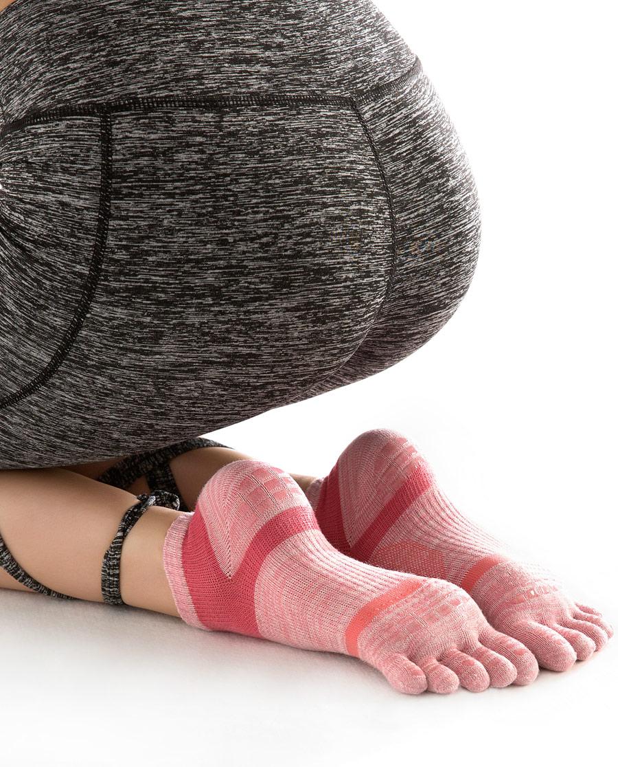JOURVA袜子|足哇舒适空间女士防滑运动五趾袜JV113