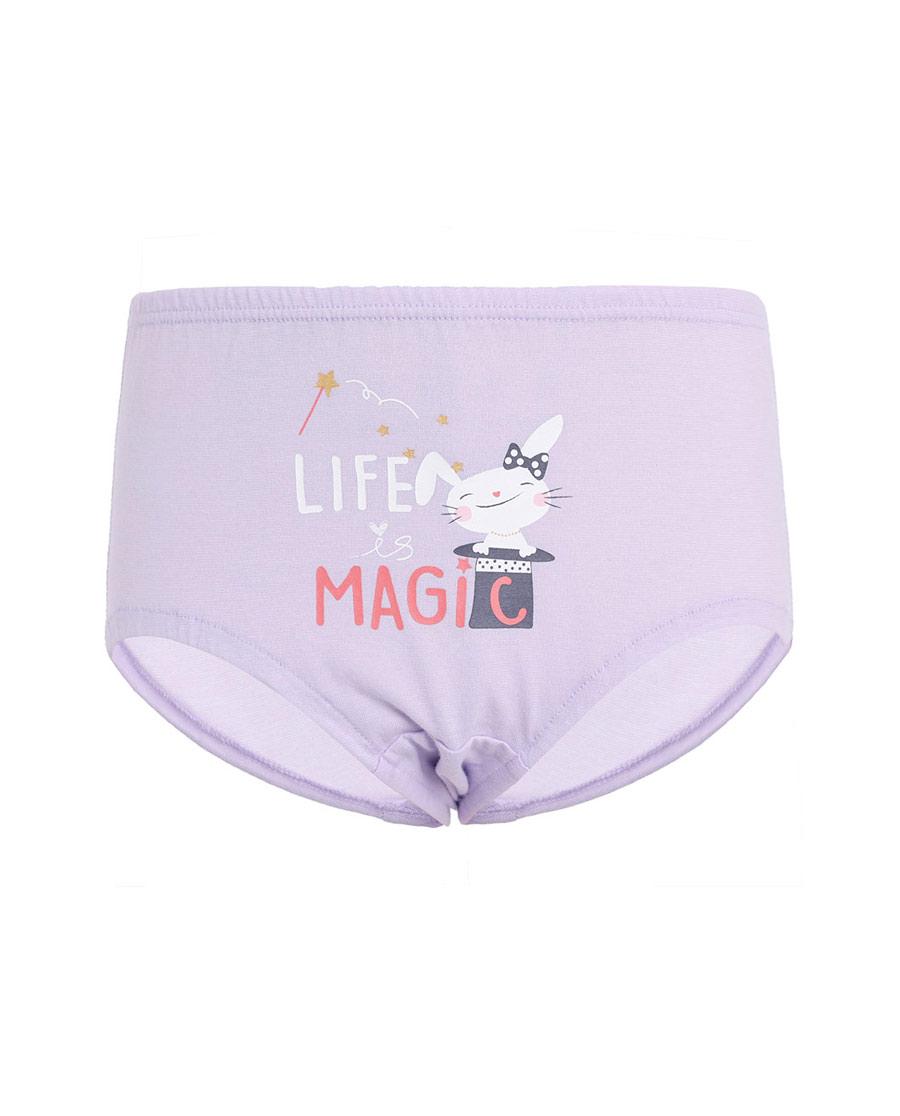Aimer Kids内裤|亚洲城儿童魔法兔中腰三角面包裤AK1221