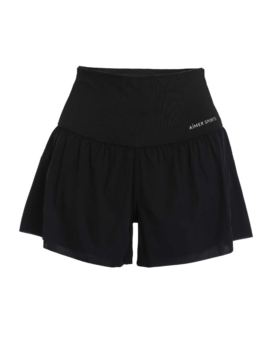 Aimer Sports运动装|爱慕运动iMOVE II跑步短裤AS151G92