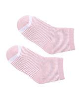 爱慕儿童袜子条纹撞色童袜AK1942462
