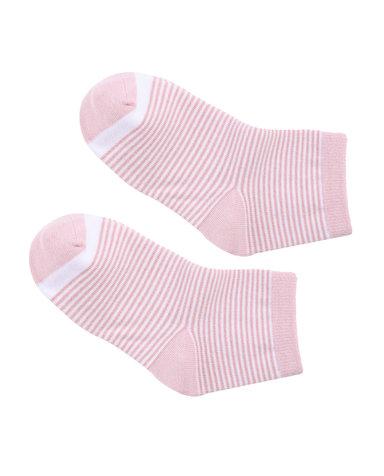 Aimer Kids袜子 爱慕儿童袜子条纹撞色童袜AK1942462