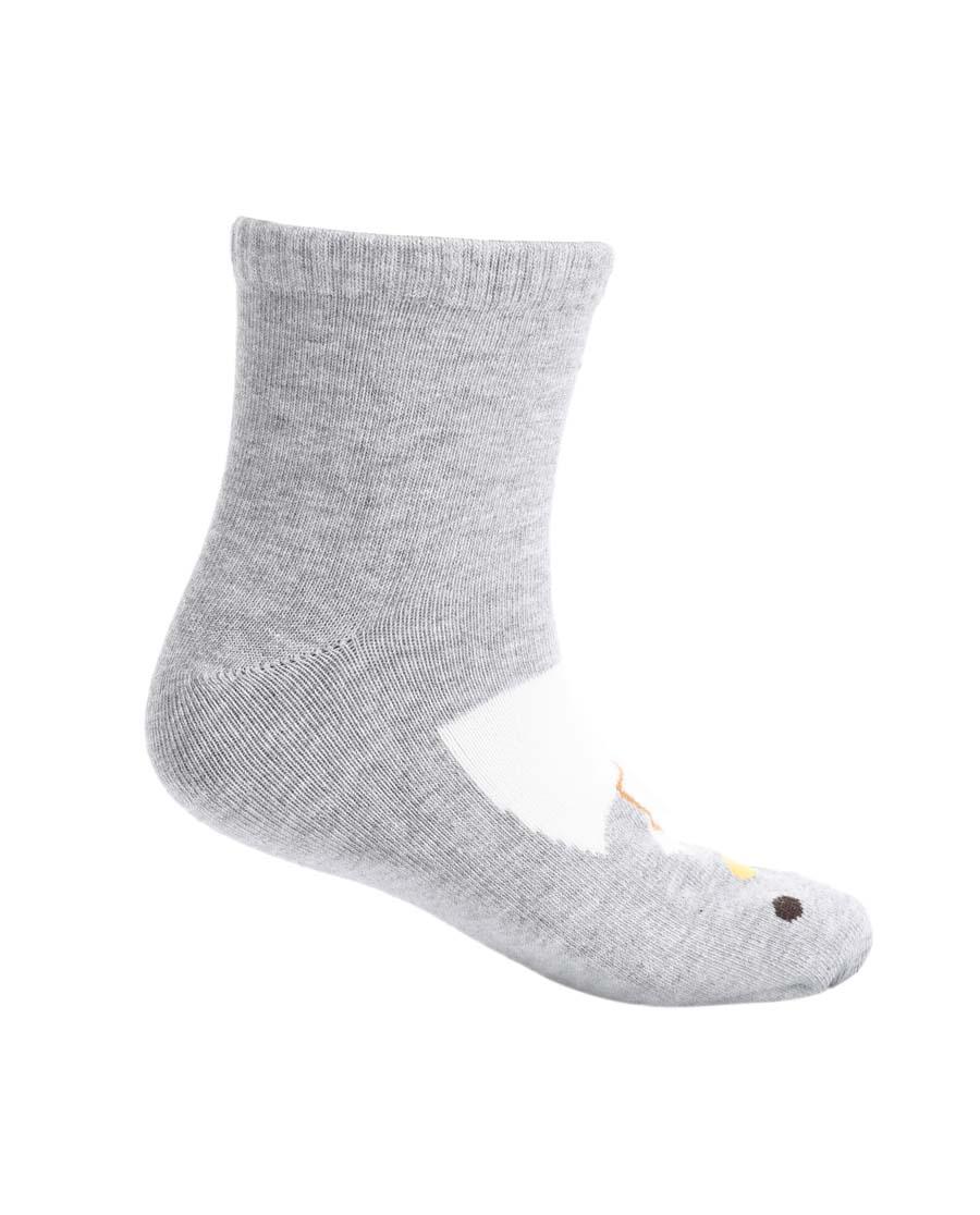 Aimer Kids袜子|爱慕儿童19AW袜子可爱企鹅面包童袜AK