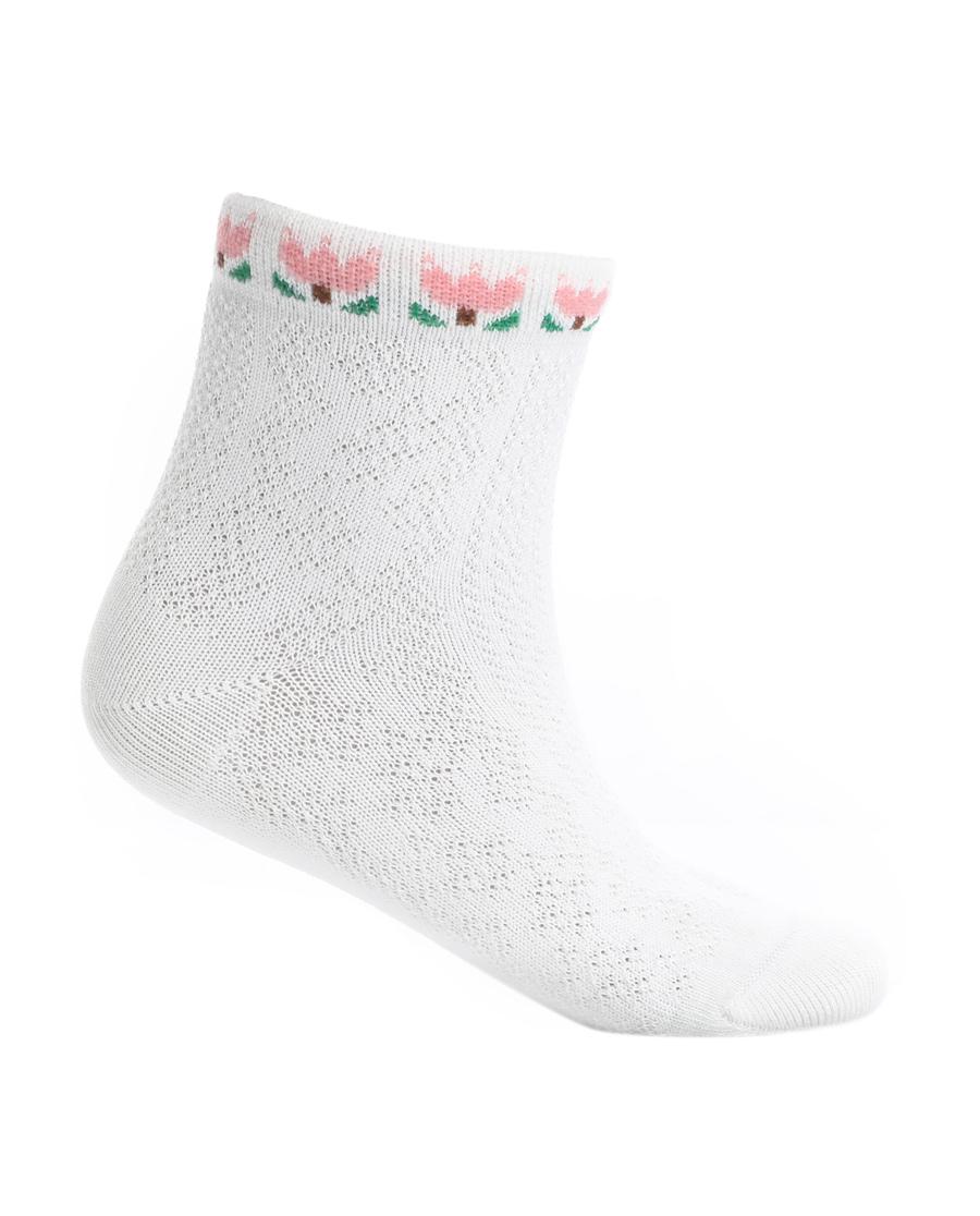 Aimer Kids袜子|爱慕儿童袜子柔软棉提花袜子AK1942465