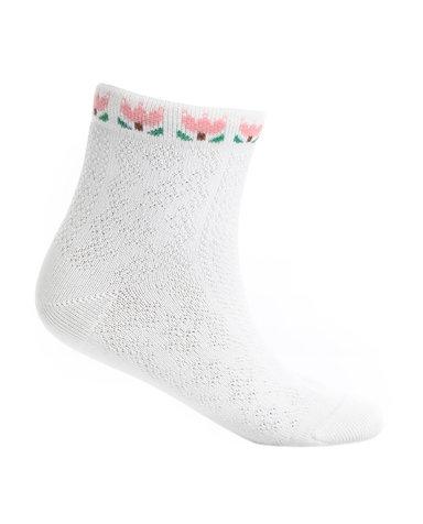 Aimer Kids袜子 爱慕儿童袜子柔软棉提花袜子AK1942465