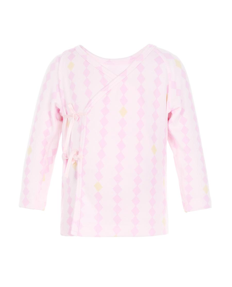 Aimer Baby保暖|爱慕婴幼小象乐园系绳长袖上衣AB1721731