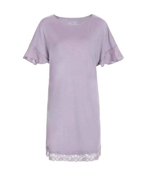 Aimer Home睡衣|爱慕家居牛奶好眠II短袖睡裙AH440531