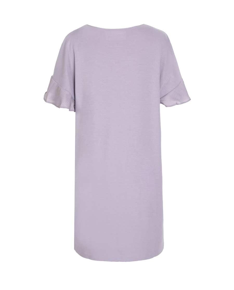 Aimer Home睡衣 爱慕家居牛奶好眠II短袖睡裙AH440531