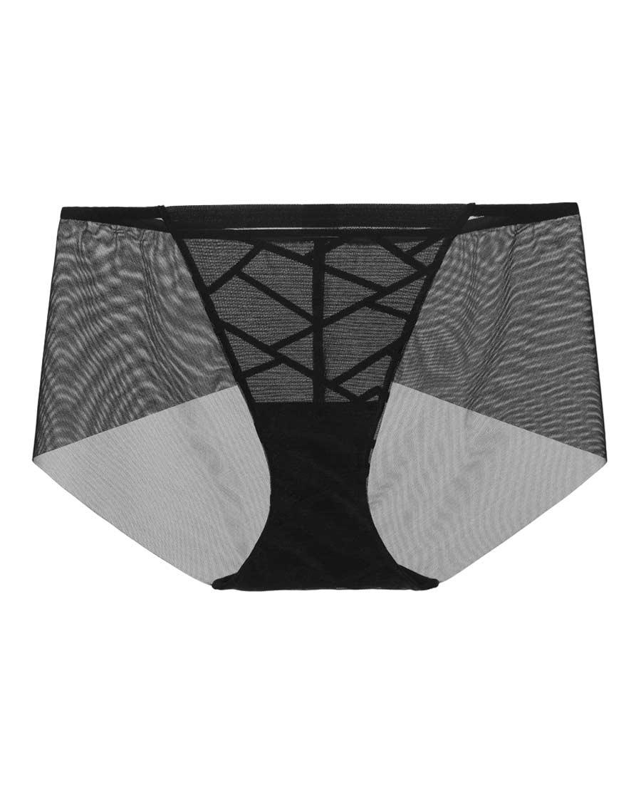 Aimer内裤|爱慕职场力量中腰平角裤AM233441