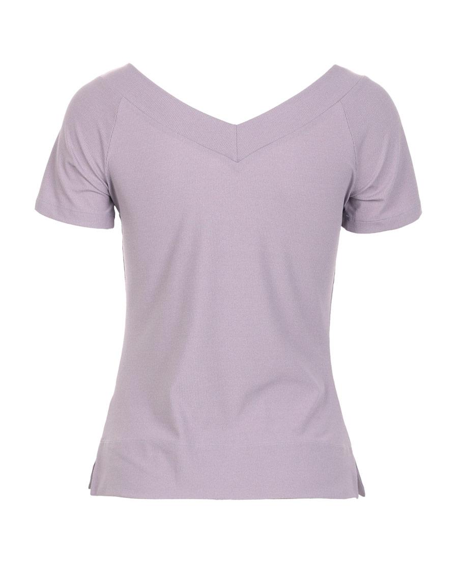 Aimer Sports运动装|爱慕运动优美瑜伽V领短袖T恤AS143G