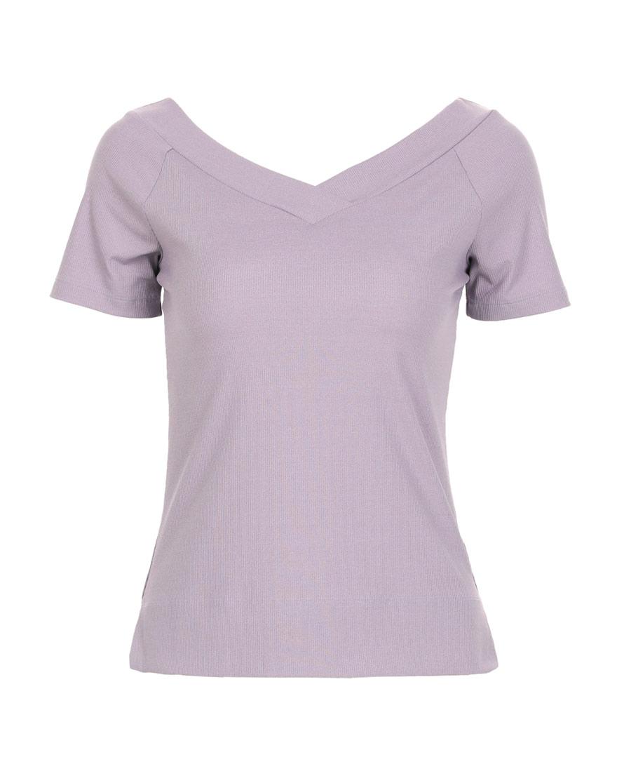 Aimer Sports运动装|爱慕运动优美瑜伽V领短袖T恤AS143G82