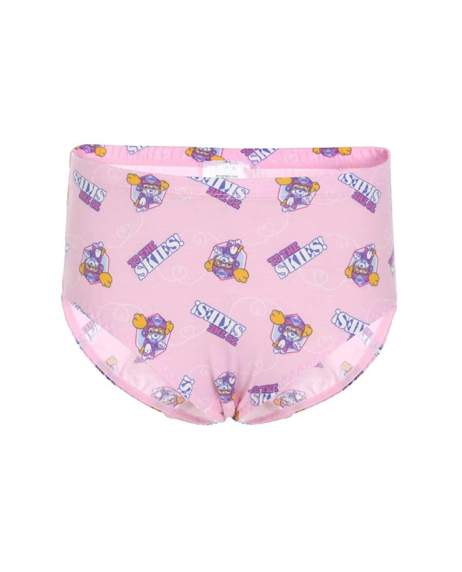 Aimer Kids内裤|爱慕儿童天使小裤棉氨纶汪汪队天天满幅中腰