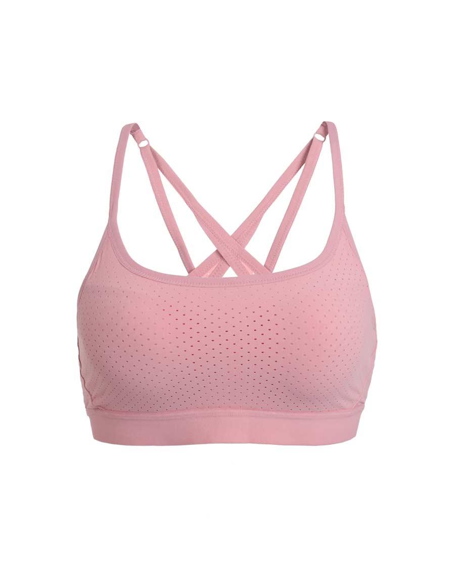 Aimer Sports文胸|爱慕运动优美瑜伽低强度细肩带背心式文胸A