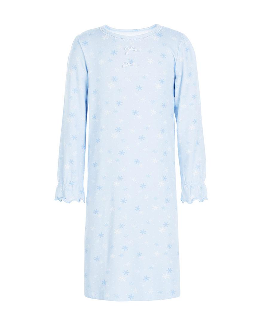 Aimer Kids睡衣|爱慕儿童缤纷雪花长袖睡裙AK144201