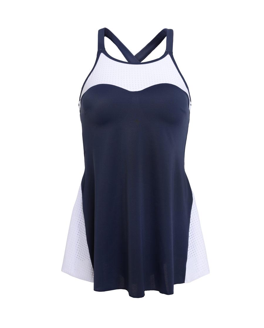 Aimer Sports泳衣|愛慕運動泳衣連體裙式泳衣AS163J52