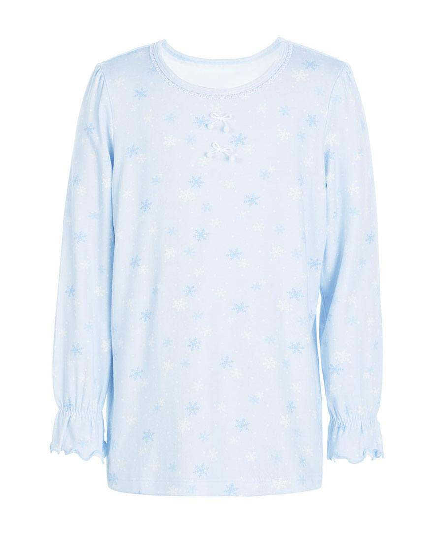 Aimer Kids睡衣|爱慕儿童缤纷雪花套头长袖睡衣AK1412