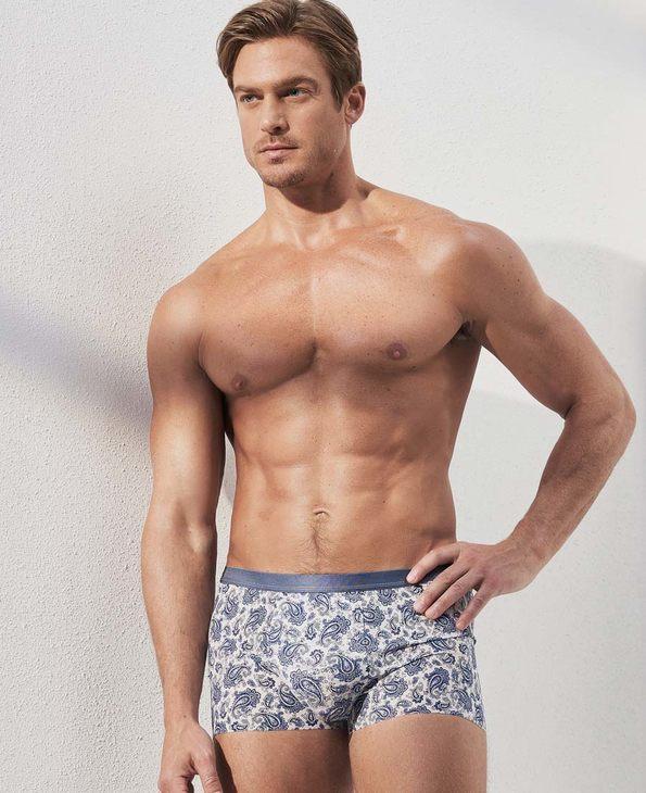 Aimer Men内裤|爱慕先生U SPACE中腰平角内裤NS23C341