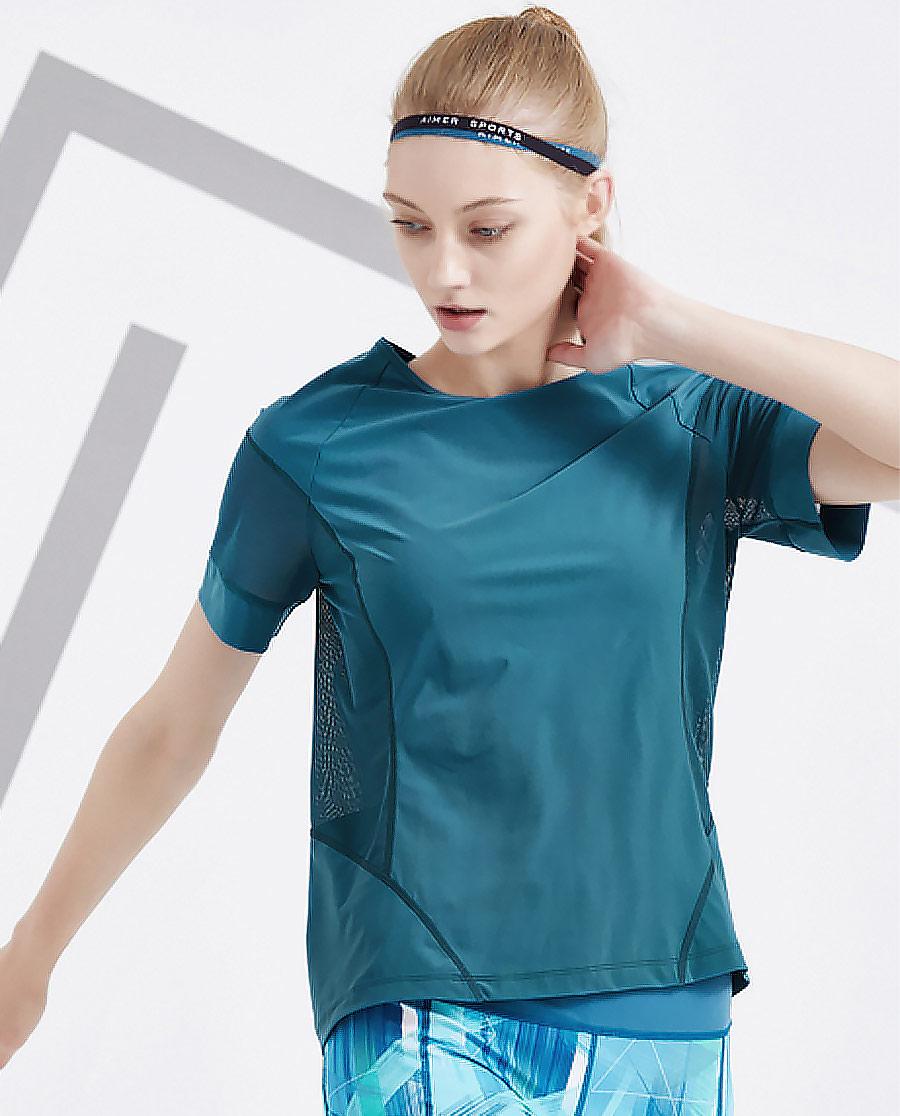 Aimer Sports运动装|ag真人平台运动盛夏晨跑短袖T恤AS143D71