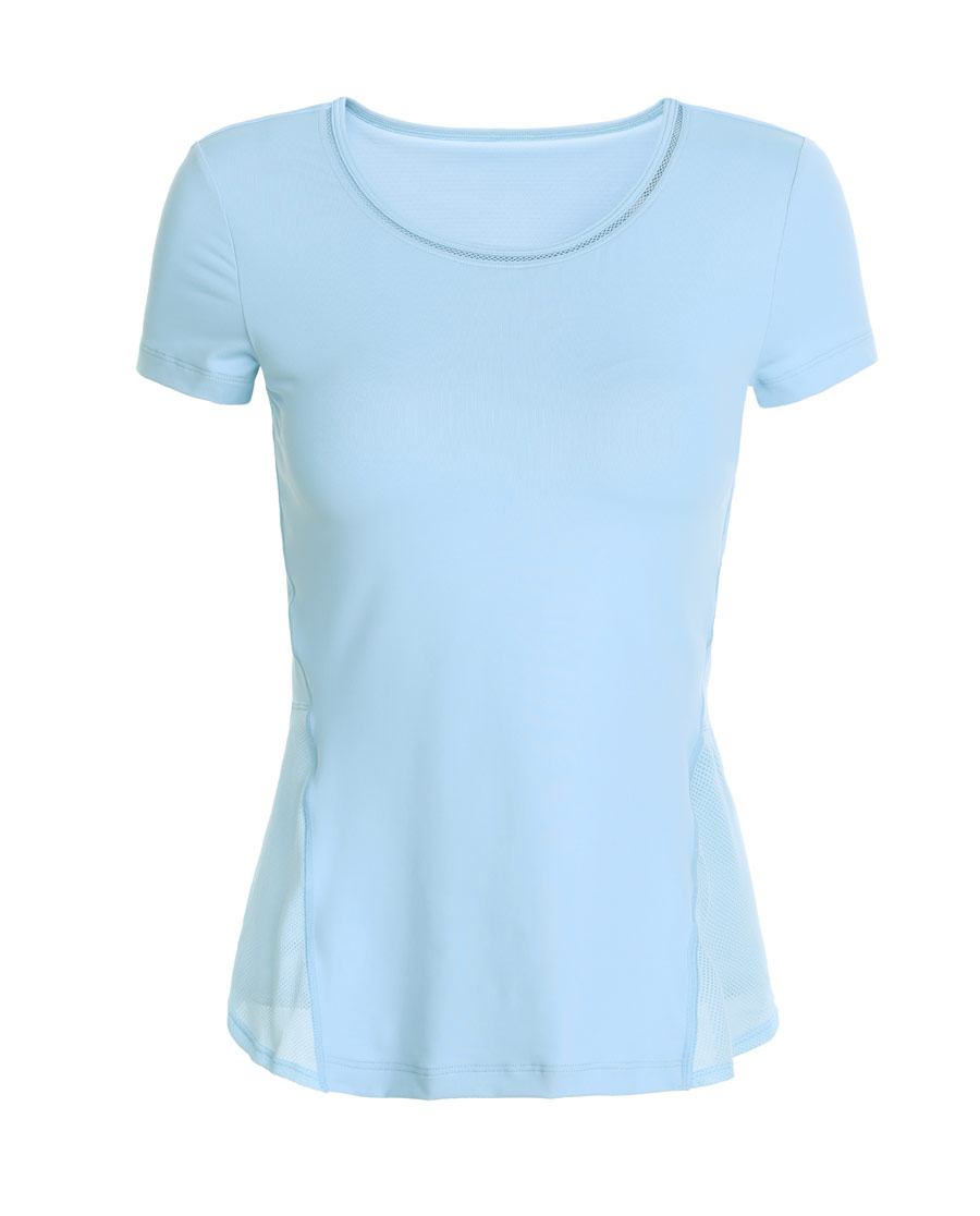 Aimer Sports运动装|爱慕运动舒展瑜伽带杯短袖T恤AS143H11