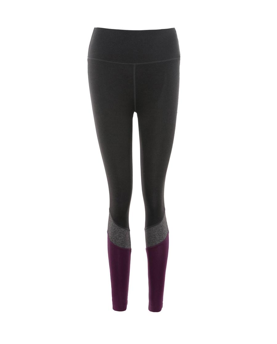 Aimer Sports运动装|爱慕运动拼色瑜伽拼色长裤AS153E41