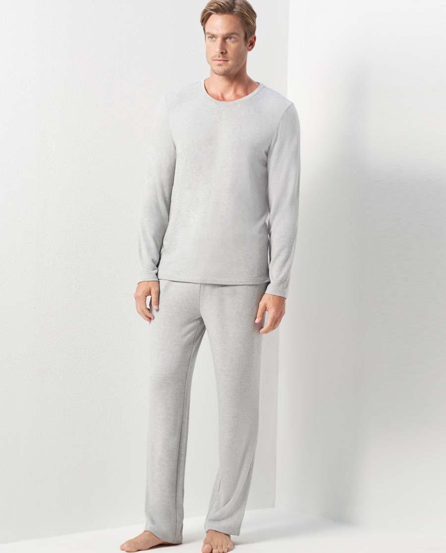 Aimer Men睡衣|亚洲城娱乐薰衣草晚安家居长裤NS42C61