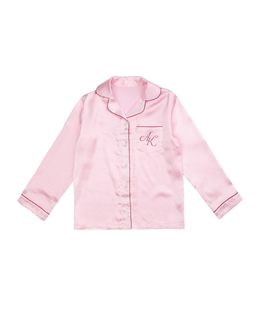 Aimer Kids睡衣|爱慕儿童素雅真丝开衫上衣AK141168