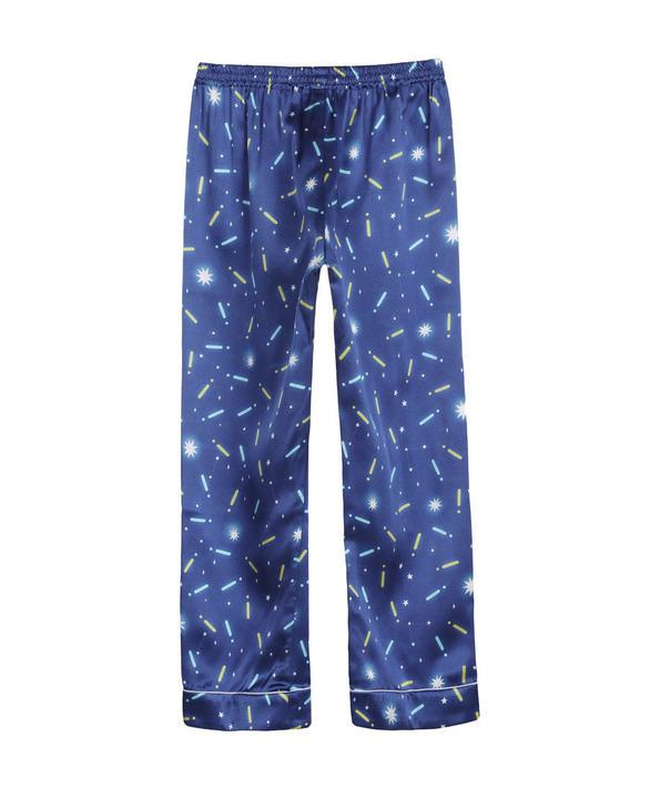 Aimer Kids睡衣|爱慕儿童素雅真丝印花家居裤AK2421682