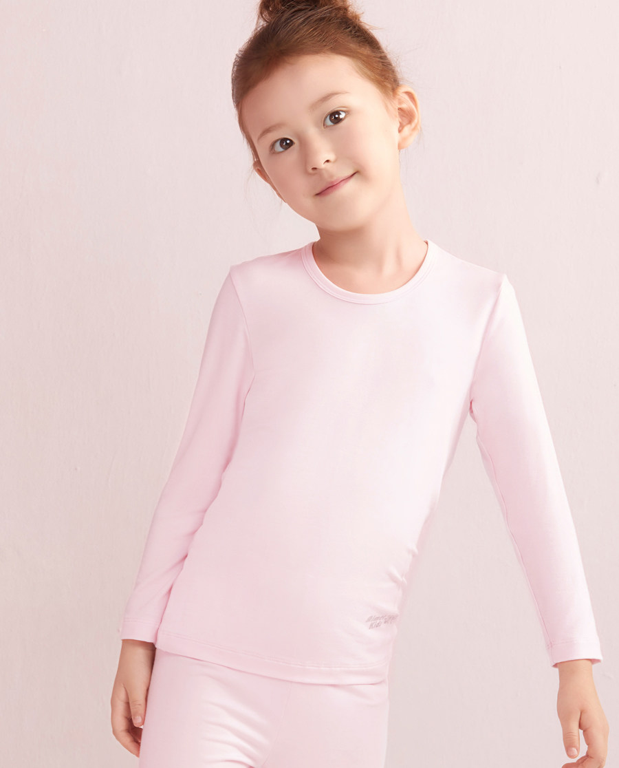 Aimer Kids保暖 爱慕儿童天使暖衣MODAL长袖上衣AK1720261