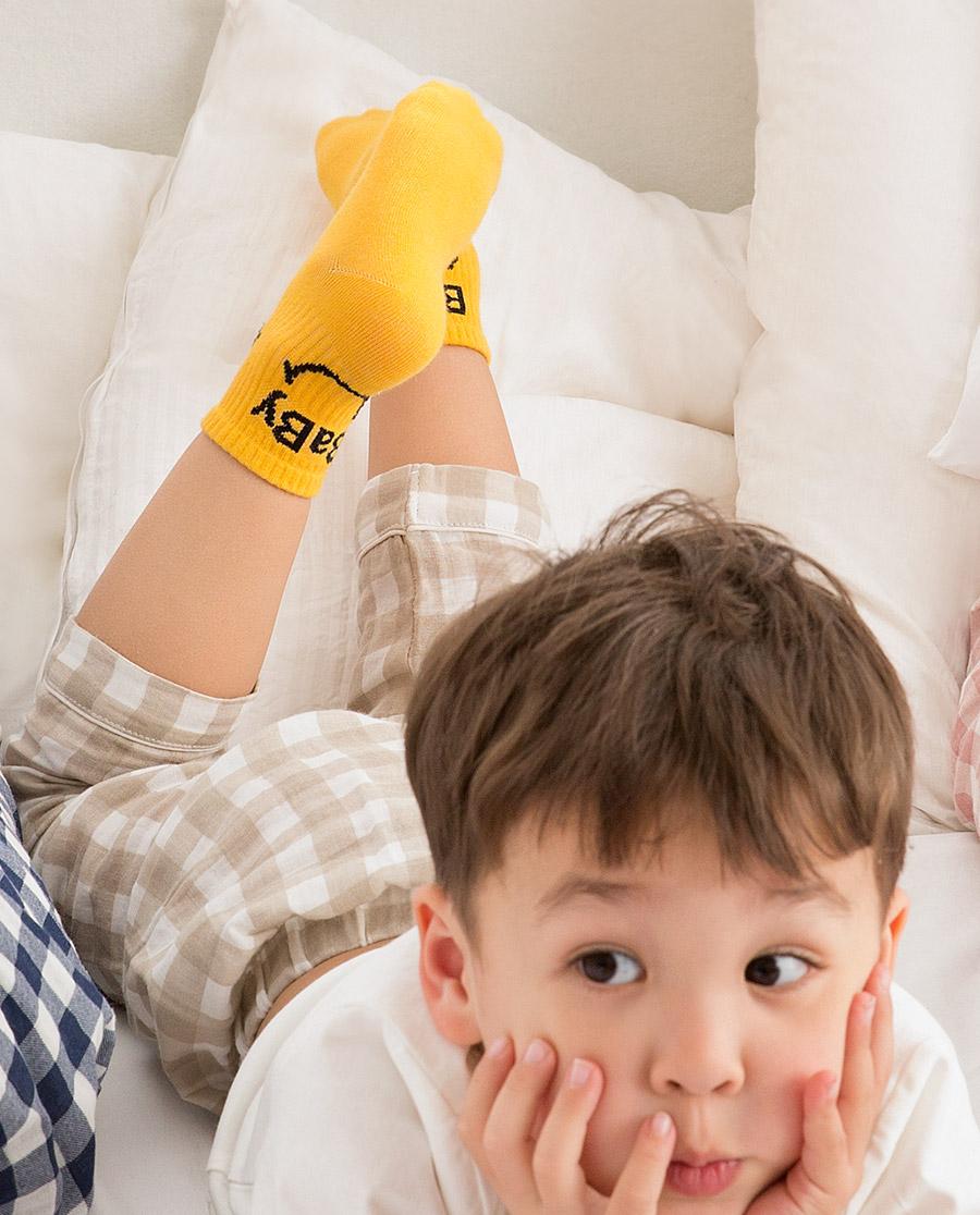 JOURVA袜子|足哇HI一家人系列儿童印花中筒袜JV51