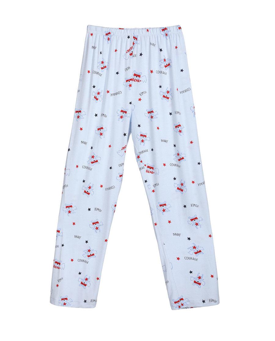Aimer Kids睡衣|爱慕儿童慕尔熊男童长裤AK2420901