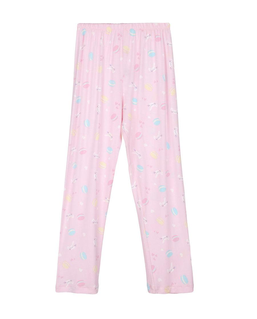 Aimer Kids睡衣|爱慕儿童甜心马卡龙女童长裤AK1420921