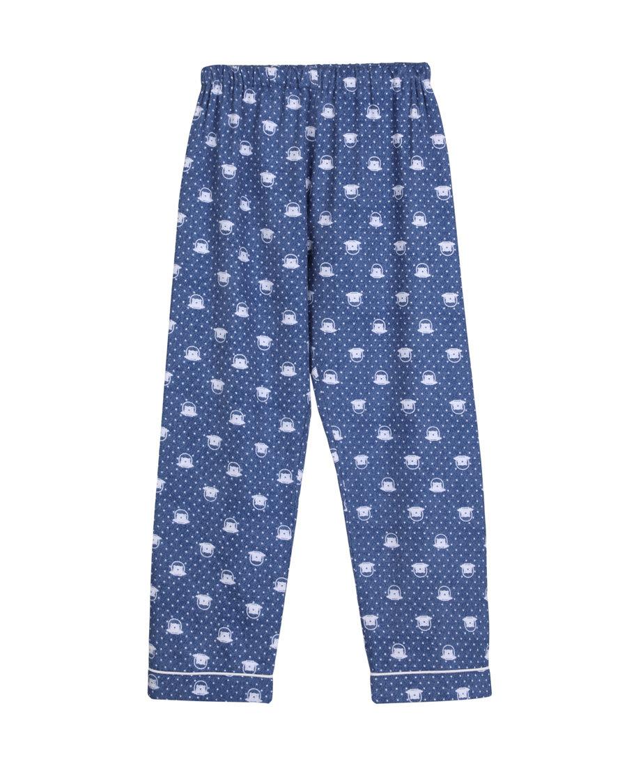Aimer Kids睡衣 爱慕儿童宇航熊家居长裤AK2420251